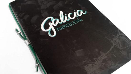 Carta restaurante, comunicación, diseño gráfico